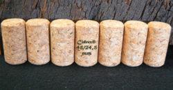 Bouchons liège Cidrex chanfreinés 45x24,5 mm pour cidre et bière.