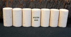 Bouchons de liège Cylindriques 45×24 mm Sanpor O (3-4 ans)