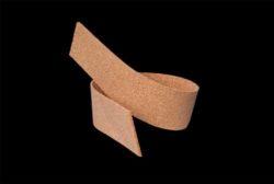 Bandes de liège pour désolidariser et joints de dilatations