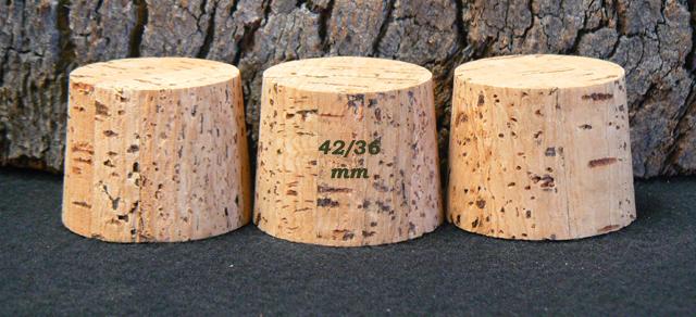 Bondes liege naturel 33x42/36mm en vente sur alienatur