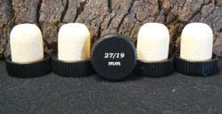 Bouchons tête plastique 27x27/19 pour bouteilles de Floc