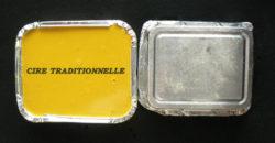 Cire traditionnelle à cacheter jaune pour bouchons