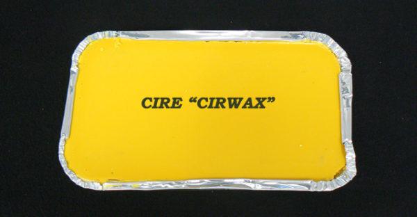 Cire cirwax jaune découpe facile et ne s'emiette pas