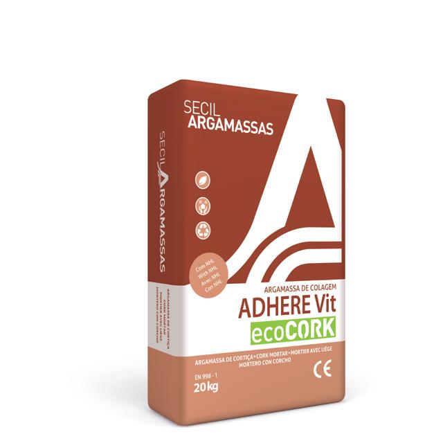 Colle enduit exterieur ADHERE VIT Ecocork en vente sur Aliénatur