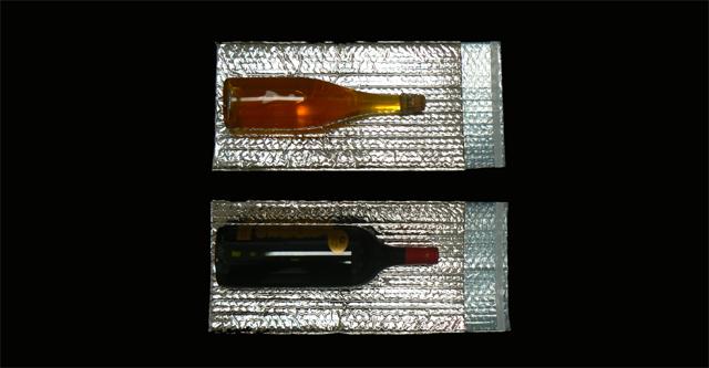 ISOLTOO 200x400 mm sachet/poche isotherme pour transport de boissons