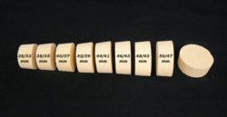 Vente de bouchons liege hauteur 20mm diamèters 36/33mm à 50/47mm