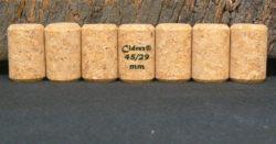 Achat de bouchons pour cidres et bieres 45x29mm