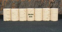 Bouchons 38x24mm pour vin de garde 1 à 2 ans
