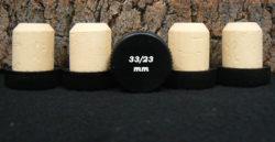 Achat de bouchons Tête plastique noire 32 33x23mm sur Alienatur