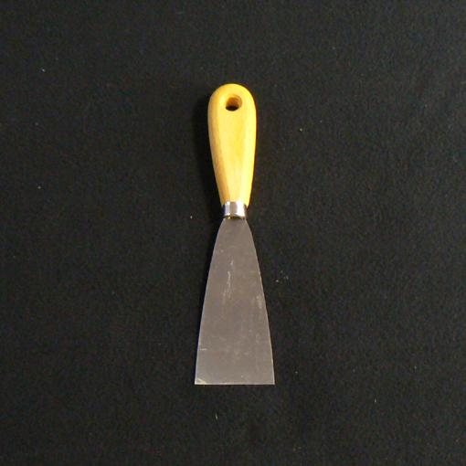 Couteau acier 5 cm pour gratter, reboucher et finitions fines