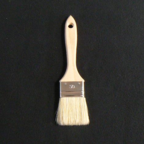Pinceau Brosse queue de morue pour peintures et huiles
