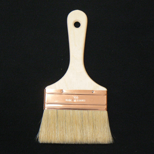 Pinceau Brosse plate SPALTER 10 cm pour huiles et lasures