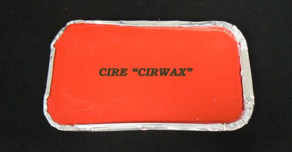 Cire cirwax rouge à cacheter découpable et ne s'émiette pas