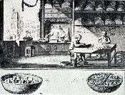 Image ancienne travail/histoire du liège