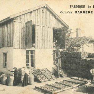 Photo fabrique bouchons Octave Barrere Blog Ame du liege