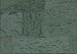 Dalles liege mur teinte terre sur Âme du liège