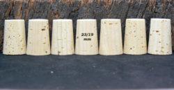 Bouchons liège naturels coniques 33x23/19mm rebouchage vente sur Ame du liège